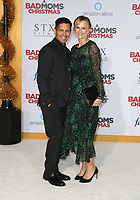 WESTWOOD, CA - OCTOBER 30: Jay Hernandez, Daniella Deutscher, at Premiere Of STX Entertainment's 'A Bad Moms Christmas' At The Regency Village Theatre in Westwood, California on October 30, 2017. Credit: Faye Sadou/MediaPunch