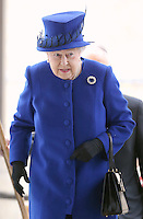 08 March 2016 - London, England - Queen Elizabeth II arrives at the Prince's Trust Centre in Kennington in London. Photo Credit: Alpha Press/AdMedia
