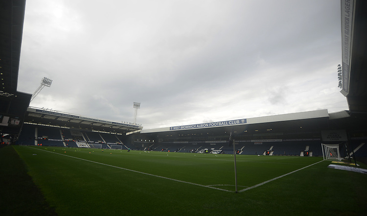 A general view of The Hawthorns, home of West Bromwich Albion FC<br /> <br /> Photographer Kevin Barnes/CameraSport<br /> <br /> The EFL Sky Bet Championship - West Bromwich Albion v Blackburn Rovers - Saturday 31st August 2019 - The Hawthorns - West Bromwich<br /> <br /> World Copyright © 2019 CameraSport. All rights reserved. 43 Linden Ave. Countesthorpe. Leicester. England. LE8 5PG - Tel: +44 (0) 116 277 4147 - admin@camerasport.com - www.camerasport.com