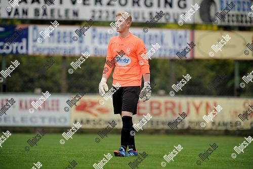 2013-08-21 / Voetbal / seizoen 2013-2014 / Houtvenne / Seppe Verachtert<br /><br />Foto: Mpics.be