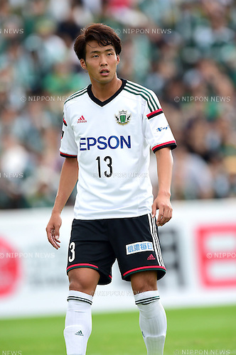 Tomoya Inukai (Yamaga),<br /> OCTOBER 4, 2014 - Football / Soccer :<br /> 2014 J.League Division 2 match between Yokohama FC 0-2 Matsumoto Yamaga FC at Ajinomoto Field Nishigaoka in Tokyo, Japan. (Photo by AFLO)