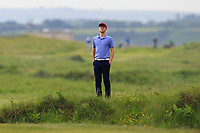 A.J. McCabe  (Links Portmarnock) on the 1st during Round 1 of The East of Ireland Amateur Open Championship in Co. Louth Golf Club, Baltray on Saturday 1st June 2019.<br /> <br /> Picture:  Thos Caffrey / www.golffile.ie<br /> <br /> All photos usage must carry mandatory copyright credit (© Golffile | Thos Caffrey)
