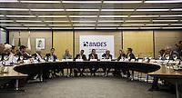 """RIO DE JANEIRO-Rj 28/07/2014 Conferência Internacional """" O  presente e o futuro das Intituições financeiras de desenvolvimento  MINDS na sede do BNDES na regiao central do Rio de Janeiro nesta segunda-feira, 28.   Foto:Tatiana Araujo/Brazil Photo Press"""
