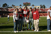 18 November 2006: Patrick Danahy during Stanford's 30-7 loss to Oregon State at Stanford Stadium in Stanford, CA.