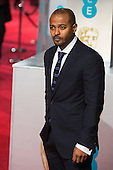 London, UK. 14 February 2016. Actor Noel Clarke. Red carpet arrivals for the 69th EE British Academy Film Awards, BAFTAs, at the Royal Opera House. © Vibrant Pictures/Alamy Live News