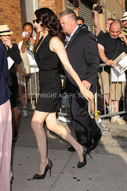 WWW.ACEPIXS.COM . . . . . .July 27, 2011...New York City...Rachel Weisz visits The Daily Show with Jon Stewart on July 27, 2011 in New York City.....Please byline: KRISTIN CALLAHAN - ACEPIXS.COM.. . . . . . ..Ace Pictures, Inc: ..tel: (212) 243 8787 or (646) 769 0430..e-mail: info@acepixs.com..web: http://www.acepixs.com .