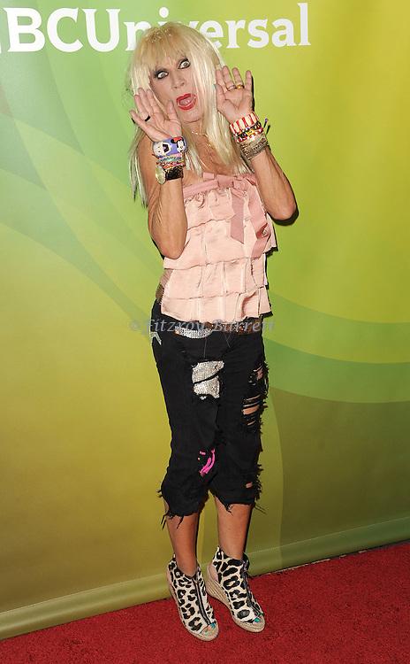 """Betsey Johnson at the """"NBC Summer Press Day 2013"""" held at The Langham  Huntington Hotel and Spa in Pasadena, CA. April 22, 2013."""