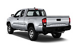 Car pictures of rear three quarter view of a 2018 Toyota Tacoma SR Access Cab 4x2 4-Cyl Auto Long Bed 4 Door Pick Up angular rear