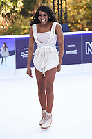 Perri Shakes-Drayton at the &quot;Dancing on Ice&quot; launch photocall at the Natural History Museum, London, UK. <br /> 19 December  2017<br /> Picture: Steve Vas/Featureflash/SilverHub 0208 004 5359 sales@silverhubmedia.com
