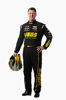 Feb 6, 2019; Pomona, CA, USA; NHRA pro stock driver Jeg Coughlin Jr poses for a portrait during NHRA Media Day at the NHRA Museum. Mandatory Credit: Mark J. Rebilas-USA TODAY Sports