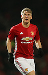 Bastian Schweinsteiger of Manchester United during the English League Cup Quarter Final match at Old Trafford  Stadium, Manchester. Picture date: November 30th, 2016. Pic Simon Bellis/Sportimage