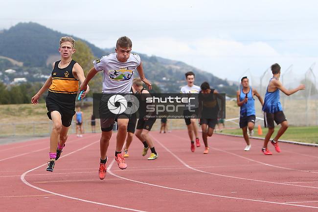 NELSON, NEW ZEALAND - March 13:  TSS Athletics Saxton Oval on March13 2018 in Nelson, New Zealand. (Photo by: Evan Barnes Shuttersport Limited)