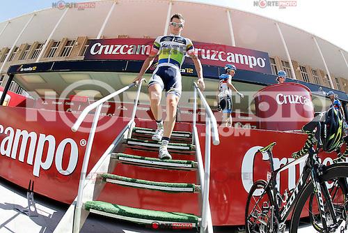 Simon Clarke before the stage of La Vuelta 2012 between Logro&ntilde;o and Logro&ntilde;o.August 22,2012. (ALTERPHOTOS/Acero) /NortePhoto.com<br /> <br /> **SOLO*VENTA*EN*MEXICO**<br /> **CREDITO*OBLIGATORIO**<br /> *No*Venta*A*Terceros*<br /> *No*Sale*So*third*<br /> *** No Se Permite Hacer Archivo**<br /> *No*Sale*So*third*