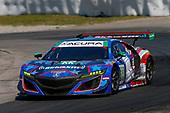 #93 Michael Shank Racing with Curb-Agajanian Acura NSX, GTD: Lawson Aschenbach, Justin Marks
