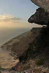 The cliffs of the southern coast of Socotra, Yemen