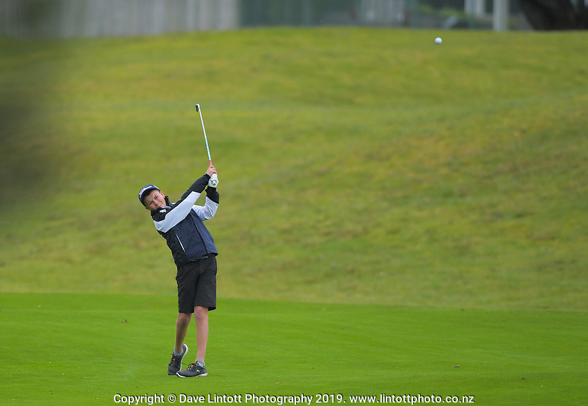 Ben Ambler. Golf. 2019 AIMS games at Mount Maunganui Golf Club in Mount Maunganui, New Zealand on Thursday, 12 September 2019. Photo: Dave Lintott / lintottphoto.co.nz
