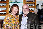 Anthony and Kay O'Carroll (Ballyduff) enjoying a night out in Bella Bia Restaurant on Friday night last.