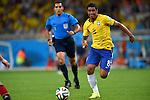 Paulinho (BRA),<br /> JULY 8, 2014 - Football / Soccer : FIFA World Cup 2014 semi-finals match between Brazil 1-7 Germany at Mineirao stadium in Belo Horizonte, Brazil.<br /> (Photo by FAR EAST PRESS/AFLO)