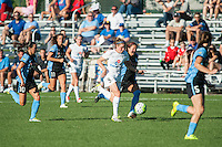 Kansas City, MO - Sunday September 11, 2016: Heather O'Reilly, Vanessa DiBernardo, Sofia Huerta, Katie Naughton, Danielle Colaprico during a regular season National Women's Soccer League (NWSL) match between FC Kansas City and the Chicago Red Stars at Swope Soccer Village.