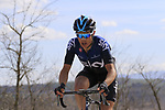 Diego Rosa (ITA) Team Sky out front alone on sector 8 Monte Santa Maria during Strade Bianche 2019 running 184km from Siena to Siena, held over the white gravel roads of Tuscany, Italy. 9th March 2019.<br /> Picture: Eoin Clarke | Cyclefile<br /> <br /> <br /> All photos usage must carry mandatory copyright credit (&copy; Cyclefile | Eoin Clarke)