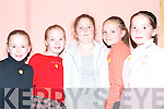 SET DANCERS: Orla O'Riordan, Aoife King, Nessa McCarthy, Breanne and Emily Barrett, Ardfert who took part in the Sult na nOg competition in the IT Tralee on Friday.   Copyright Kerry's Eye 2008