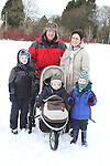 The Vainio-Mattila family at the Goal Mile on St. Stephens Day...(Photo credit should read Jenny Matthews www.newsfile.ie)....This Picture has been sent you under the conditions enclosed by:.Newsfile Ltd..The Studio,.Millmount Abbey,.Drogheda,.Co Meath..Ireland..Tel: +353(0)41-9871240.Fax: +353(0)41-9871260.GSM: +353(0)86-2500958.email: pictures@newsfile.ie.www.newsfile.ie.