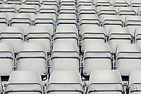 General view of the empty seats at the ground ahead of Yorkshire CCC vs Essex CCC, Specsavers County Championship Division 1 Cricket at Scarborough CC, North Marine Road on 7th August 2017