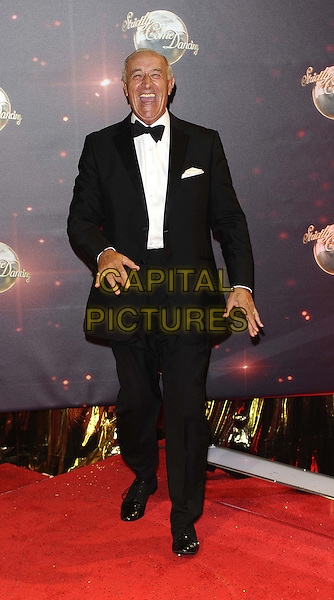 Len Goodman <br /> The red carpet launch for 'Strictly Come Dancing' at Elstree Studios, Borehamwood, England.<br /> September 3rd, 2013<br /> full length black tuxedo white shirt bow tie smiling <br /> CAP/FIN<br /> &copy;Steve Finn/Capital Pictures