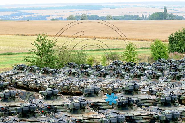 Reportage - Demilitarisierungsbetrieb - Verschrottung von Panzern aus dem Bestand der Bundeswehr. Foto: aif / Stefan Nöbel-Heise