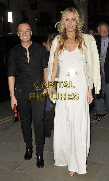 LONDON, ENGLAND - MARCH 10: Julien Macdonald &amp; Melissa Odabash attend the Rodial Beautiful Awards 2014, St Martin's Lane Hotel, St Martin's Lane, on Monday March 10, 2014 in London, England, UK.<br /> CAP/CAN<br /> &copy;Can Nguyen/Capital Pictures