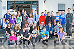 Killarney teenagers who attended the Cultural open day in Killarney Garda station on Sunday ......