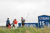 Paul Waring (ENG) on the 15th tee during the 3rd round of the Dubai Duty Free Irish Open, Lahinch Golf Club, Lahinch, Co. Clare, Ireland. 06/07/2019<br /> Picture: Golffile | Thos Caffrey<br /> <br /> <br /> All photo usage must carry mandatory copyright credit (© Golffile | Thos Caffrey)