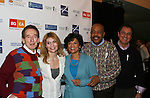 Sesame Street cast participate in Defying Inequality: The Broadway Concert - A Celebrity Benefit for Equal Rights  on February 23, 2009 at the Gershwin Theatre, New York, NY. (Photo by Sue Coflin)