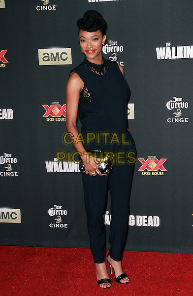 2 October 2014 - Universal City, California - Sonequa Martin-Green attends AMC celebrates the season five premiere of its hit series, &ldquo;The Walking Dead,&rdquo;  at the  AMC Universal Citywalk Stadium 19/IMAX.  <br /> CAP/ADM/TBO<br /> &copy;Theresa Bouche/AdMedia/Capital Pictures