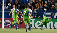 Carson, CA - Saturday July 29, 2017: Clint Dempsey during a Major League Soccer (MLS) game between the Los Angeles Galaxy and Seattle Sounders FC at StubHub Center.