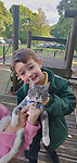 Pictured:  Miles Povey with Rocky the cat<br /> <br /> Little Miles Povey and his new kitten are so inseparable that when he started school for the first time his pet came too.  The five-year-old walks to and from school every day accompanied by five month old Rocky.<br /> <br /> The grey and white quarter Persian kitten even joins him in classes and has become a firm favourite with Miles' school pals.  Miles joined reception at Oakwood Primary School in Southampton, Hants, last month.  SEE OUR COPY FOR DETAILS.<br /> <br /> © Solent News & Photo Agency<br /> UK +44 (0) 2380 458800