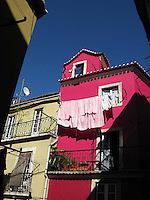 The Clours of The House in Lisbon