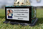 BRISBANE, AUSTRALIA - NOVEMBER 10:  during the Australian Indigenous Football Championships Match Day 3 on November 10, 2018 in Brisbane, Australia. (Photo by Patrick Kearney)