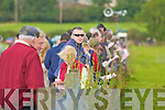 Studing the form at the coursing in Kilflynn on Sunday