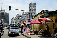 NIGERIA, City Lagos, The Cathedral Church of Christ, est. 1869, Diocese of Lagos, anglican church in city center / anglikanische Kirche im Stadtzentrum