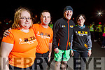 The launch of the Born to Run Couch to 5k, from left: Anne O'Shea, Kieran Nolan, Conor Cusack and Rita Ryan on Tuesday evening.