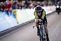 Adam Yates (GBR/Mitchelton-Scott)<br /> <br /> Stage 4 (ITT): Roanne to Roanne (26.1km)<br /> 71st Critérium du Dauphiné 2019 (2.UWT)<br /> <br /> ©kramon