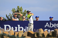 Guido Mogliozzi (ITA) on the 15th during Round 2 of the Aberdeen Standard Investments Scottish Open 2019 at The Renaissance Club, North Berwick, Scotland on Friday 12th July 2019.<br /> Picture:  Thos Caffrey / Golffile<br /> <br /> All photos usage must carry mandatory copyright credit (© Golffile | Thos Caffrey)