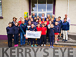 Pictured here the boys and girls from 5th and 6th class at St. Finian's National School Waterville who made their confirmation on the 5th March presenting a cheque for €280 to the Skellig stars special Olympics club.