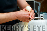 Massimiliano Bagaglini, Once Upon a Cheese,  making Mozzarella cheese at a demonstration at Tralee Food Fair on Sunday.