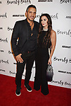 CULVER CITY, CA - OCTOBER 21: Realtor Mauricio Umansky (L) and wife TV personality/actress Kyle Richards attend the Dorit Kemsley Hosts Preview Event For Beverly Beach By Dorit at the Trunk Club on October 21, 2017 in Culver City, California.