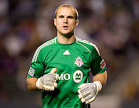 Toronto FC goalkeeper Stefan Frei (24). The LA Galaxy and Toronto FC played to a 0-0 draw at Home Depot Center stadium in Carson, California on Saturday May 15, 2010.  .