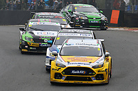 2019 British Touring Car Championship. Race 2. #3 Tom Chilton. Team Shredded Wheat Racing with Gallagher. Ford Focus RS.