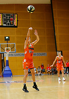 29th November 2019; Bendat Basketball Centre, Perth, Western Australia, Australia; Womens National Basketball League Australia, Perth Lynx versus Southside Flyers; Katie Ebzery of the Perth Lynx takes a free throw - Editorial Use