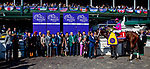 November 3, 2018 : Connections for City of Light #1, ridden by Javier Castellano, winner of the Breeders' Cup Dirt Mile, in the winners circle on Breeders Cup World Championships Saturday at Churchill Downs on November 3, 2018 in Louisville, Kentucky. Bill Denver/Eclipse Sportswire/CSM